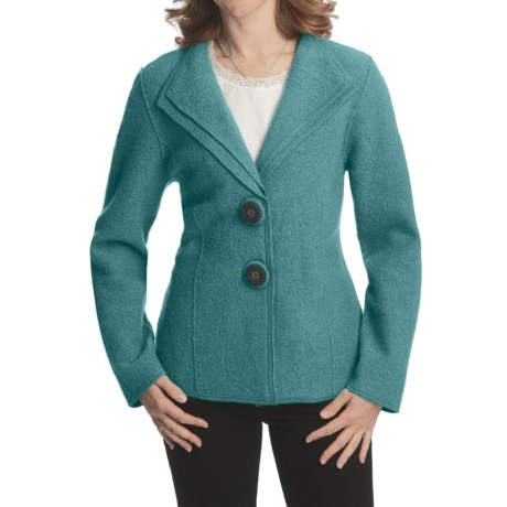 Nomadic Traders Double-Collar Jacket - Boiled Wool (For Women)