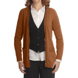 Nomadic Traders Bleecker St. Andie Cardigan Sweater - Fine-Gauge Cotton (For Women)