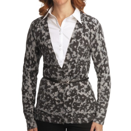 Nomadic Traders Bleecker St. Printed Cardigan Sweater (For Women)