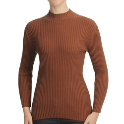 Nomadic Traders Wide Rib Poorboy Sweater (For Women)