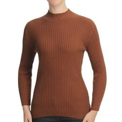 Nomadic Traders Wide Rib Poorboy Sweater (For Women)