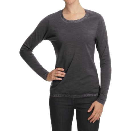 Nomadic Traders Top It Off Shirt - Stretch Cotton, Long Sleeve (For Women)