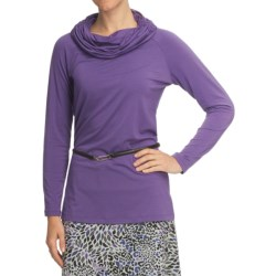 Nomadic Traders Transition Jersey Tunic Shirt - Ruched Cowl, Long Sleeve (For Women)