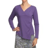 Nomadic Traders Transition Asymmetric Shirt - Jersey Knit, Long Sleeve (For Women)