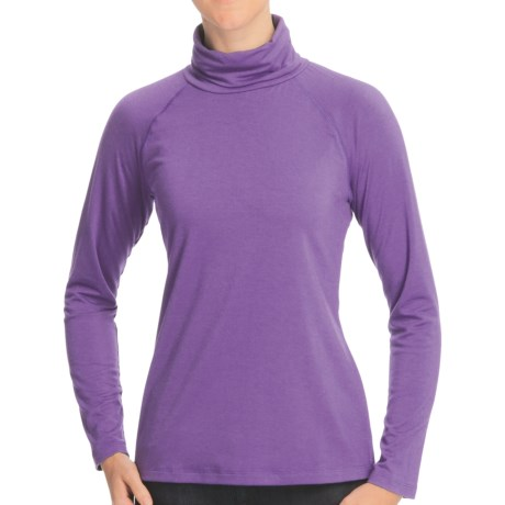 Nomadic Traders Transition Turtleneck - Jersey Knit, Long Raglan Sleeve (For Women)
