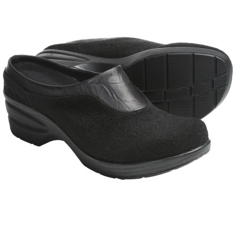 Portlandia Ashland Clogs - Leather-Wool (For Women)