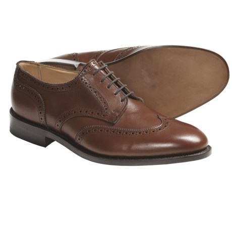 Tricker's Whitman Wingtip Shoes - Oxfords, Leather (For Men)