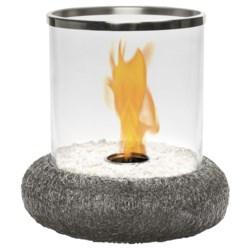 Red Vanilla Iron Nest Volcano Fire Centerpiece - Indoor-Outdoor