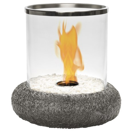 Red Vanilla Iron Nest Volcano Fire Centerpiece - Indoor-Outdoor
