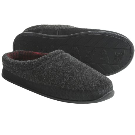 Woolrich Pinewood Slippers - Fleece (For Men)