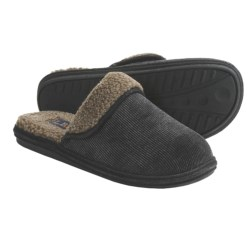 L.B. Evans Kent Slippers - Sherpa-Lined, Corduroy (For Men)