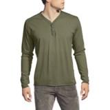Agave Denim Eureka Henley Shirt - Supima® Cotton, Long Sleeve (For Men)