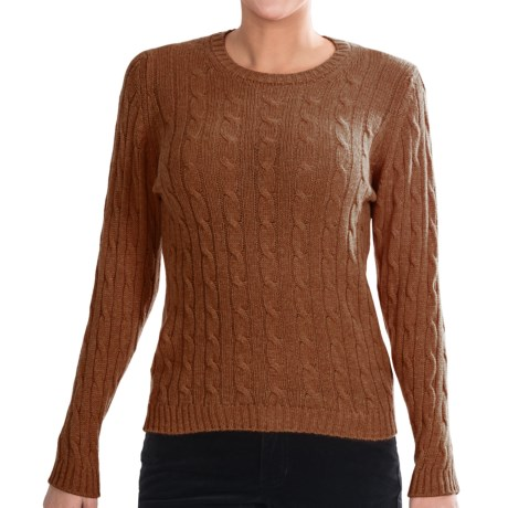 Johnstons of Elgin Cashmere Sweater (For Women)