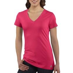 Carhartt V-Neck T-Shirt - Short Sleeve (For Women)