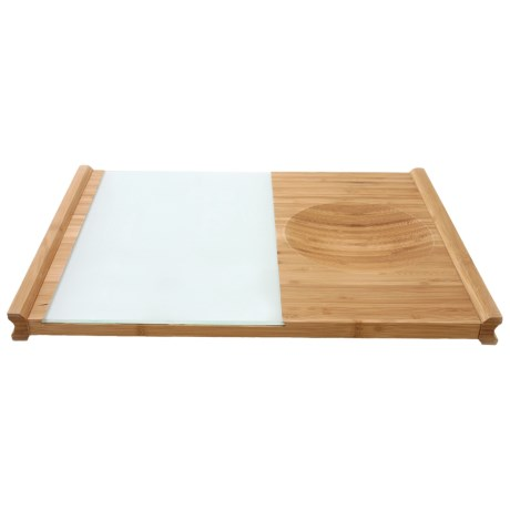Swissmar Multi-Function Cutting Board - Bamboo, Glass