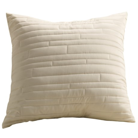 Barbara Barry Contentment Pillow Sham - Euro, 200 TC Cotton