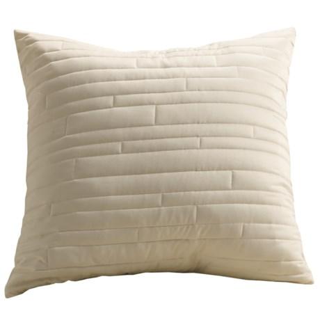 Barbara Barry Contentment Pillow Sham - Euro, 200 TC Cotton