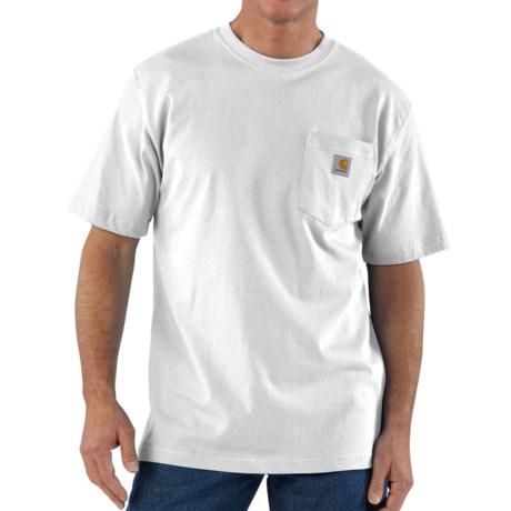 Carhartt Workwear Pocket T-Shirt - Short Sleeve, Factory Seconds (For Big and Tall Men)