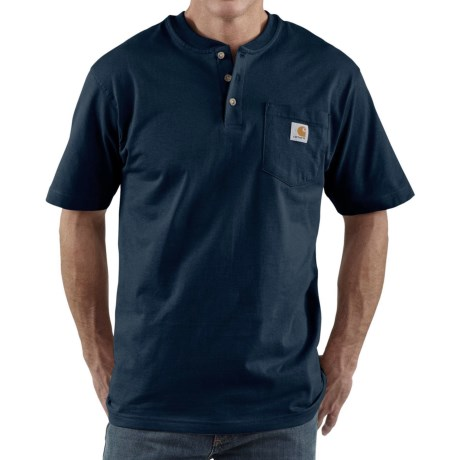 Carhartt Workwear Henley Shirt - Short Sleeve, Factory 2nds (For Men)