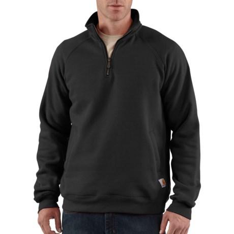 Carhartt Midweight Mock Neck Sweatshirt - Zip Neck, Factory Seconds (For Men)