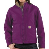 Carhartt Canyon Sandstone Jacket - Sherpa Lined (For Women)