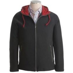 Ivanhoe Otto Hoodie Sweatshirt - Boiled Wool, Full Zip (For Men)