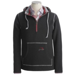 Ivanhoe Ragner Boiled Wool Sweater - Hooded, Zip Neck (For Men)