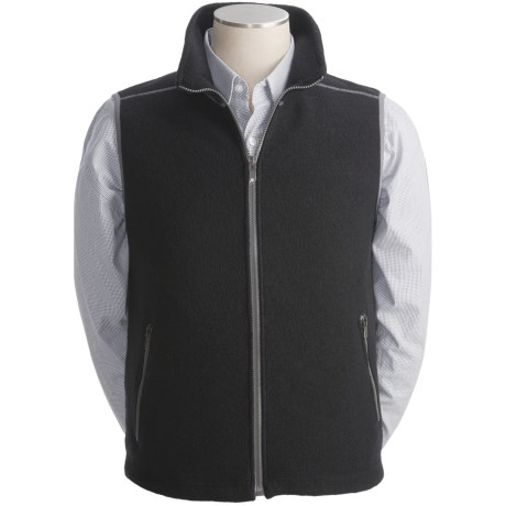 Ivanhoe Bobo Boiled Wool Vest (For Men)