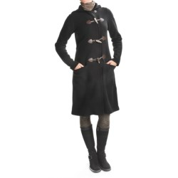 Ivanhoe Boiled Wool Duffle Coat (For Women)