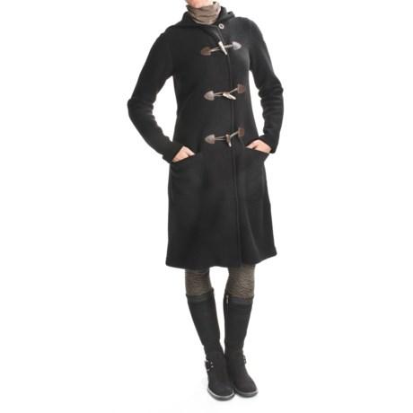 Ivanhoe of Sweden Ivanhoe Boiled Wool Duffle Coat (For Women)