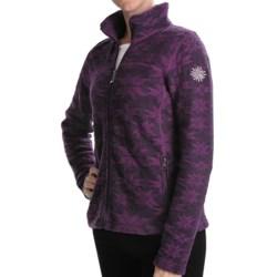 Ivanhoe of Sweden Ivanhoe Snowflake Jacquard Jacket - Boiled Wool (For Women)