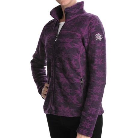 Ivanhoe Snowflake Jacquard Jacket - Boiled Wool (For Women)