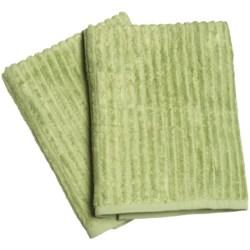 Bamboo Dreams® by Yala Ribbed Bath Towels - Set of 2