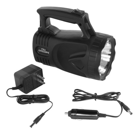 Cyclops 1-Watt Lantern Spotlight - Rechargeable