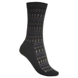 Goodhew Tone-Isle Socks - Merino Wool, Crew (For Women)