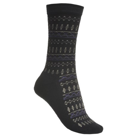 Goodhew Tone-Isle Socks - Merino Wool, Crew (For Women)