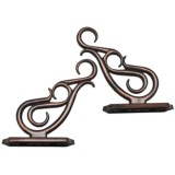 Versailles Double Scroll Brackets - Set of 2, Metal