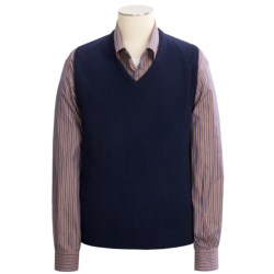 Johnstons of Elgin Scottish Cashmere Vest (For Men)