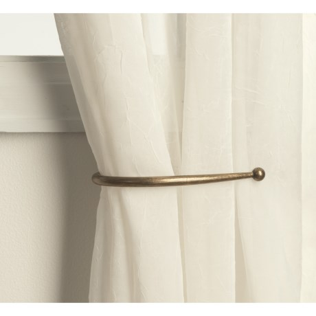 "Versailles 8"" Curtain Holdbacks - Pair"