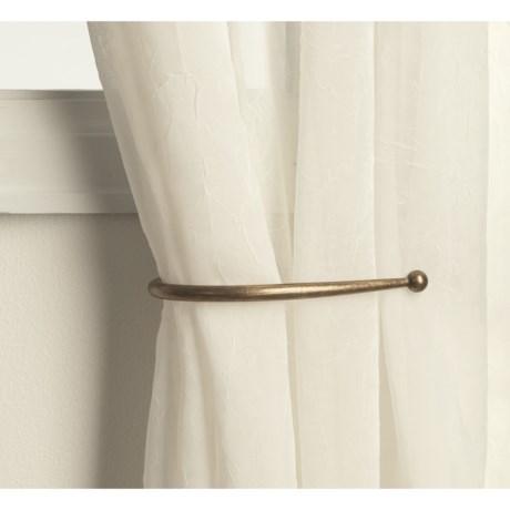 "Versailles 8"" Curtain Holdbacks - Pair"