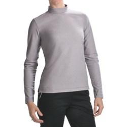 Fairway & Greene Mock Neck Shirt - Long Sleeve (For Women)