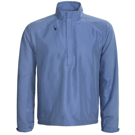 Zero Restriction Mix Wind Pullover - Zip Neck, Long Sleeve (For Men)
