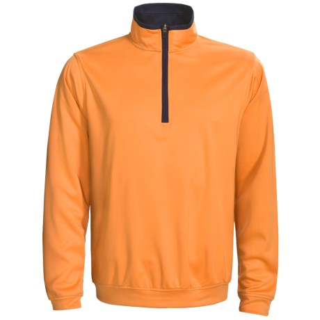 Zero Restriction Airflow Pullover - Zip Neck, Long Sleeve (For Men)