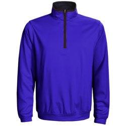 Zero Restriction Airflow Pullover - Zip Neck, Long Sleeve (For Men)