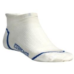 Icebreaker Run Ultralite Micro Socks - Merino Wool (For Men)