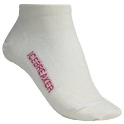 Icebreaker Run Ultralite Socks - Merino Wool, Low Cut (For Women)