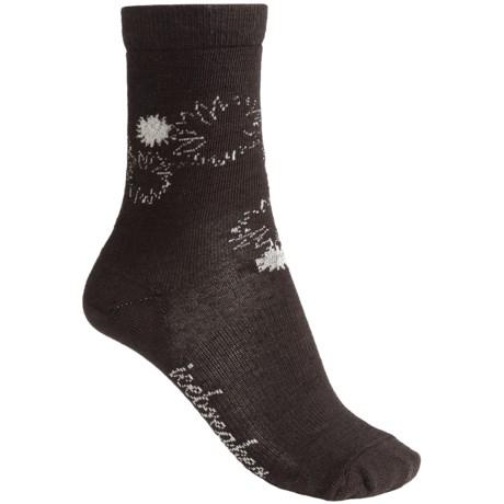 Icebreaker City Ultralite Socks - Merino Wool, 3/4 Crew (For Women)