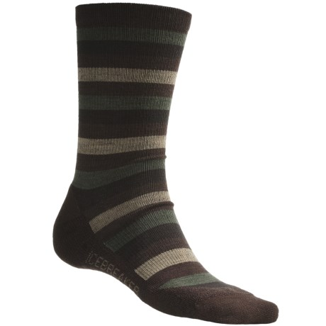 Icebreaker City Lite Crew Socks - Merino Wool (For Men)