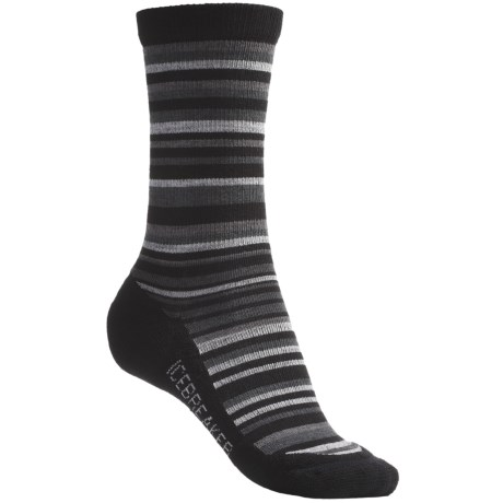 Icebreaker City Lite Socks - Merino Wool, Crew (For Women)