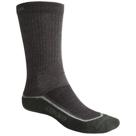 Icebreaker Hike+ Lite Crew Socks - Merino Wool (For Men and Women)